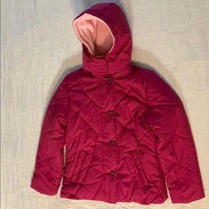 Girls Talbots Puffer Jacket EUC